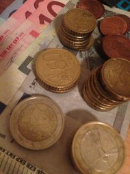 monety w walucie euro