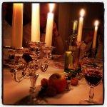 romantyczny świecznik